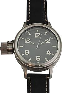 AGAT Men's Titatium Mechaninal Left Hook Diver's Watch with Sapphire Glass 193