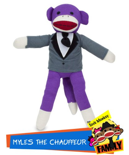 Myles the Chauffeur from The Sock Monkey Family