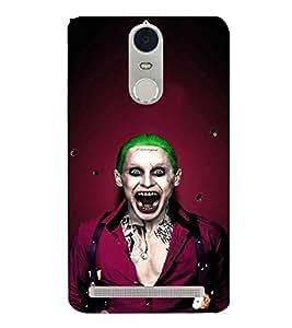 EPICCASE Scary Man with Greem hair Mobile Back Case Cover For Lenovo K5 Note (Designer Case)