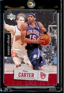 2005 06 Upper Deck Rookie Debut Vince Carter New Jersey Nets Basketball Card #57 - Mint Condition - In Protective Display Case !! - Buy 2005 06 Upper Deck Rookie Debut Vince Carter New Jersey Nets Basketball Card #57 - Mint Condition - In Protective Display Case !! - Purchase 2005 06 Upper Deck Rookie Debut Vince Carter New Jersey Nets Basketball Card #57 - Mint Condition - In Protective Display Case !! (Upper Deck, Toys & Games,Categories,Games,Card Games,Collectible Trading Card Games)