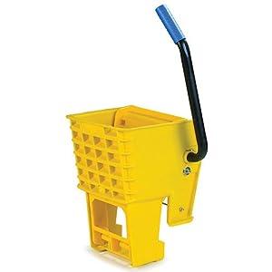 "Carlisle 36908W14 Side Press Wringer, 15"" Length x 11"" Width x 9.88"" Height, Blue, For 26 qt and 35 qt Mop Bucket"