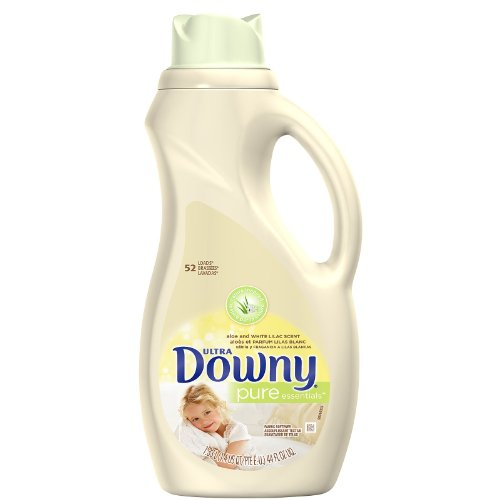 Downy Pure Essentials Ultra Concentrated Fabric Softner, Aloe & White Lilac, 32 Loads 44 fl oz (Downy Ultra Softner compare prices)