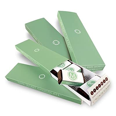 DARK SECRET chocolate Four 7 Day Boxes
