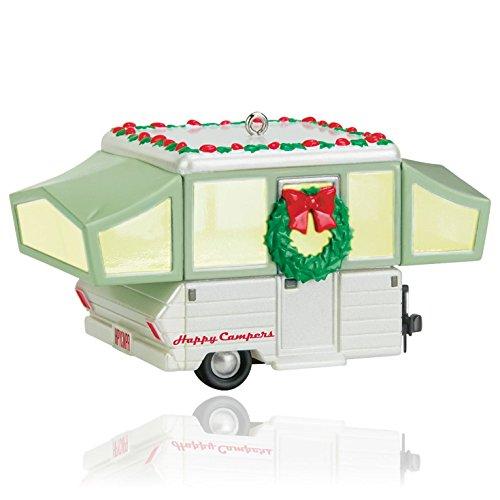 Hallmark QGO1669 Happy Campers Ornament (Hallmark Campers compare prices)