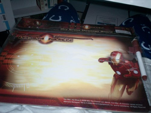 Iron Man Dry Erase Message Board