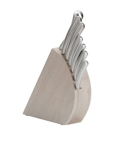BergHOFF Concavo 8-Piece Knife Block Set, Silver