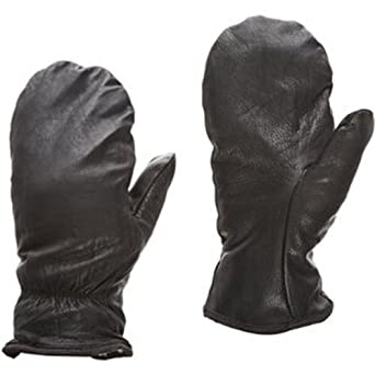 Superior SNOW Cowgrain Leather Extreme Cold Weather Glove with Built-in Fleece Acrylic BOA Liner, Work, Black (Pack of 1 Pair)