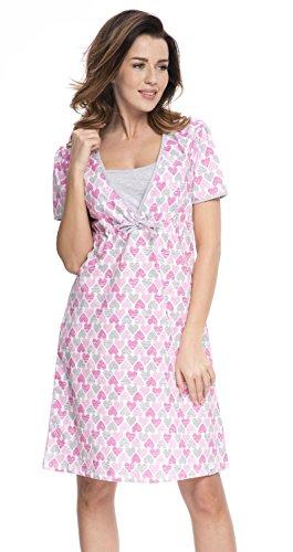 dn-nightwear-da-donna-allattamento-camicia-da-notte-altri-colori-pink-f-l