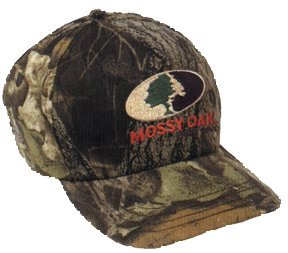 Russell Outdoors Youth Explorer Six-Panel Logo Cap, Mossy Oak Infinity, One Size