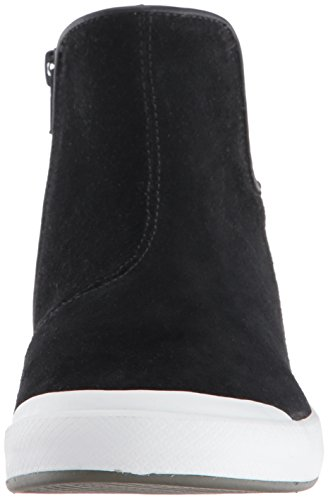 Lacoste Women's Lancelle Chelsea 416 1 Spw Fashion Sneaker, Black, 7.5 M US