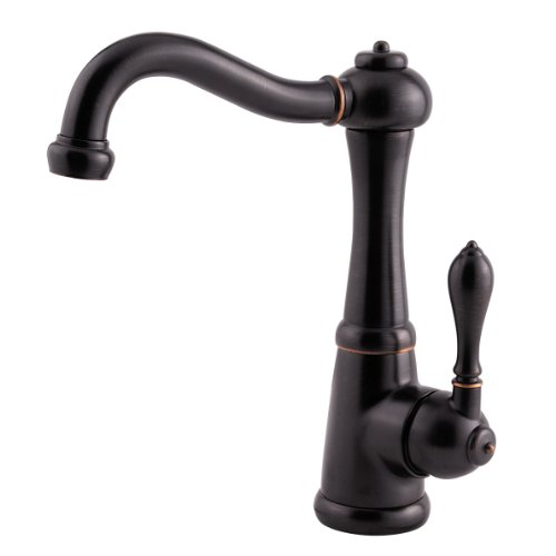 Pfister GT72-M1YY Marielle Single Handle 1 or 3-Hole Lead Free Bar/Prep Faucet, Tuscan Bronze