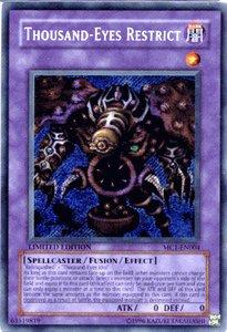 Yu-Gi-Oh Limited Edition Single Card - Thousand-Eyes Restrict - MC1-EN004