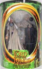Saruman with Magic Floating Palantir on Base (Saruman Action Figure compare prices)