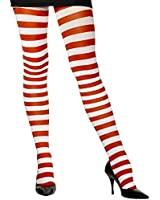 Candy Cane Tights Adult - One-Size
