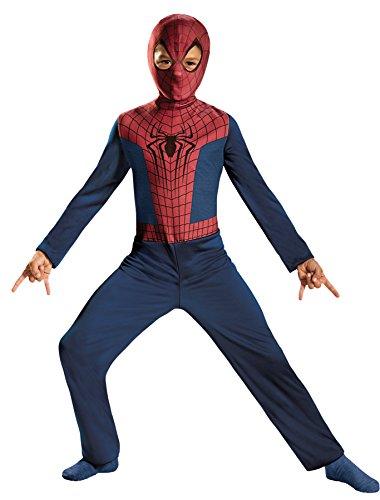 UHC Boy's Spiderman 2 Avengers Superhero Outfit Kids Halloween Costume, S