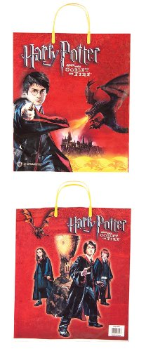 Harry Potter Kids Costume Goblet of Fire Trick or Treat Bag #3532