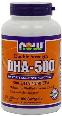 NOW Foods DHA-500, Pkg of 540 Softgels