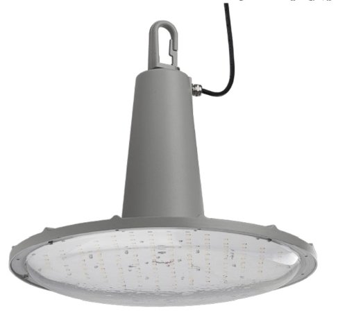 High Bay Led 150W Fixture Water & Chemical Proof (Replaces 450W Metal Halide)