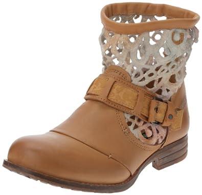Bunker Sune, Boots femme - Marron (Camel), 39 EU