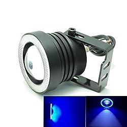 See 20W 3-Mode White+Blue COB LED 1800LM 8000K for LED Angel Eyes Car Fog Light (DC12-16V) Details