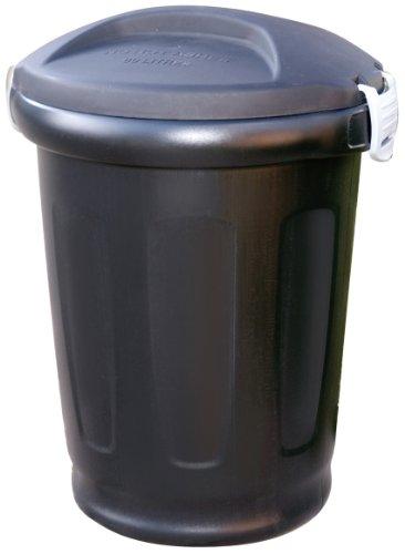ebertSankey 80-Litre Clip Bin Dustbin (Black)