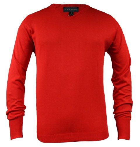John Smedley Marshall Mens Jumper SS10 Relish Red XL