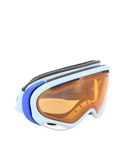 OAKLEY Skibrille A-Frame 2.0 weiß/blau Unica