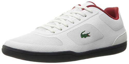 Lacoste Men's Court-Minimal Oly 316 1 Spm Fashion Sneaker, White, 9 M US