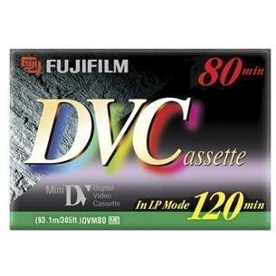 Fuji Dvm-80 Fuji Mini Digital VideocassetteB00012Y0FS