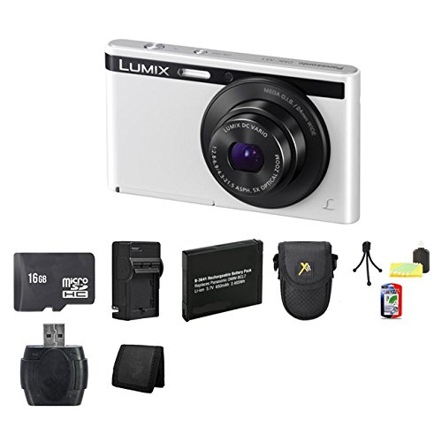 Panasonic Lumix Dmc-Xs1 16.1 Mp Digital Camera (White) Bundle 2