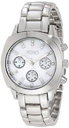 XOXO Women's XO5566 Silver-Tone Bracelet Analog Watch