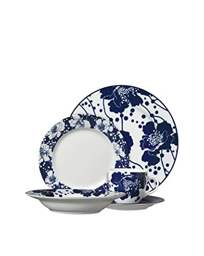 Spotted Floral 5-Piece Place Setting