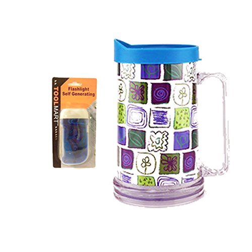 Top Pint Beer Glasses Mugs Women Unique Last Minute Mothers Day Women Gifts with Handcrank Flashlight