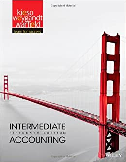 Intermediate Financial Accounting I