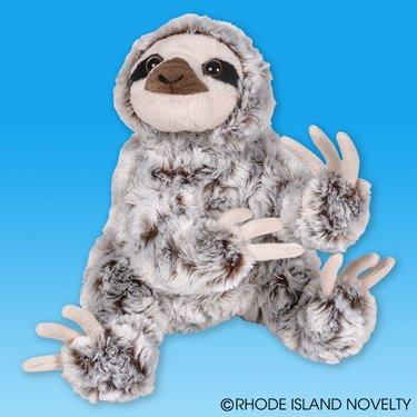 "Sloth Animal Den Plush 8"" H from Rhode Island Novelty"