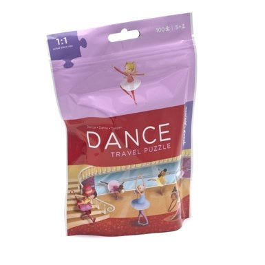 Dance Travel Puzzle Pouch