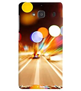 FurnishFantasy Designer Back Case Cover for Xiaomi Redmi 2