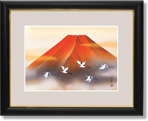 「赤富士飛翔」加藤洋峯