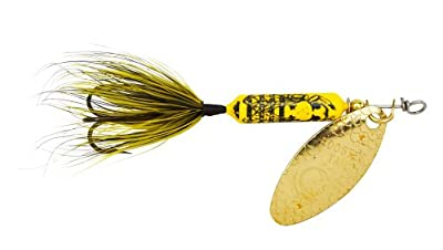 Yakima Bait Wordens Original Rooster Tail Spinner Lure Bumblebee from Yakima Bait