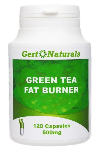 Gert Naturals, Green Tea Fat Burner, 500mg, 120 Capsules