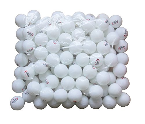 Regail 100 white 3 star 40mm table tennis balls advanced for 100 table tennis balls