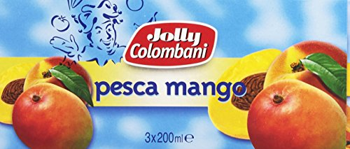 Jolly Colombani - Bevanda Analcolica, A Base Di Pesca E Mango - 600 Ml