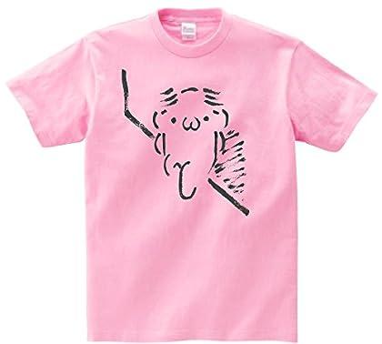 筆で書いたAAシリーズ また髪の話してる 半袖Tシャツ ピンクS