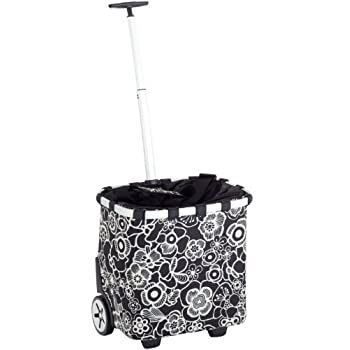 pas cher reisenthel ba 0553 caddie carrycruiser fleur noir import allemagne magasin fleur. Black Bedroom Furniture Sets. Home Design Ideas