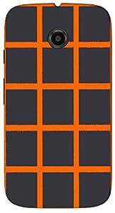 Timpax protective Armor Hard Bumper Back Case Cover. Multicolor printed on 3 Dimensional case with latest & finest graphic design art. Compatible with Motorola Moto -E-2 (2nd Gen )Design No : TDZ-22565