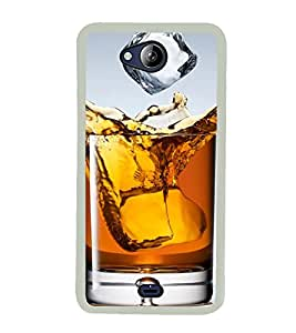 Whisky 2D Hard Polycarbonate Designer Back Case Cover for Micromax Canvas Play Q355