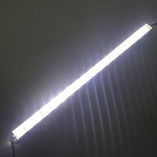 """Ledenet 12.5"""" 2800K-3000K Warm White Supper Bright 18Leds 5050 - Aquarium Led Strip - Waterproof Aluminum Lighting 12V Dc"""