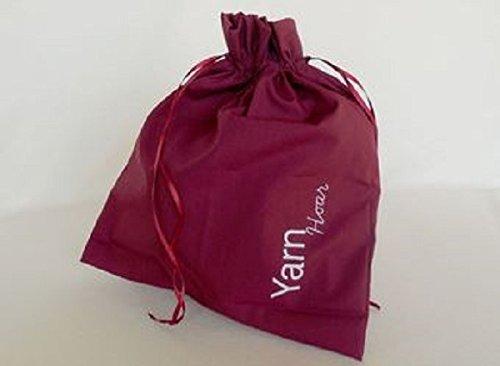 Della Q Edict Project Bags (#118-1) Yarn Hoar-Red from Della Q