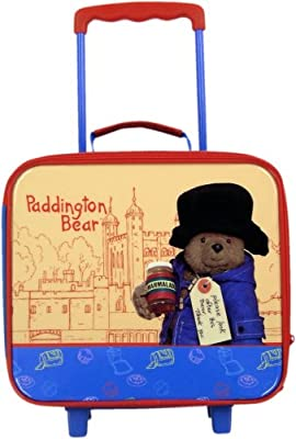 Paddington Bear Trolley Suitcase from Shreds