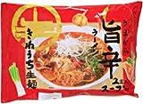 「常温保存」 きねうち麺 旨辛ラーメン 麺150g×2食入/スープ38g×2食入